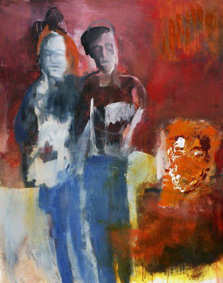 Junges Glück, 80x100cm, Acryl 2013