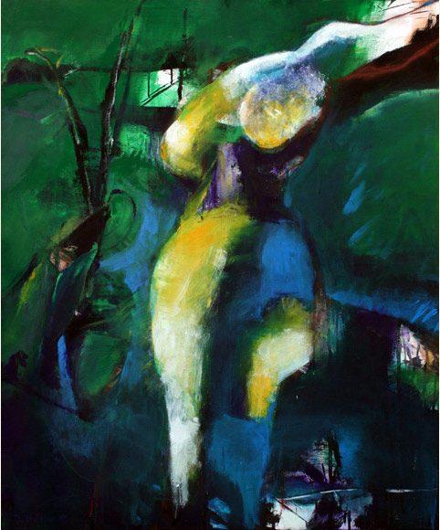 Leidenschaft, 90x120cm, Acryl 2005