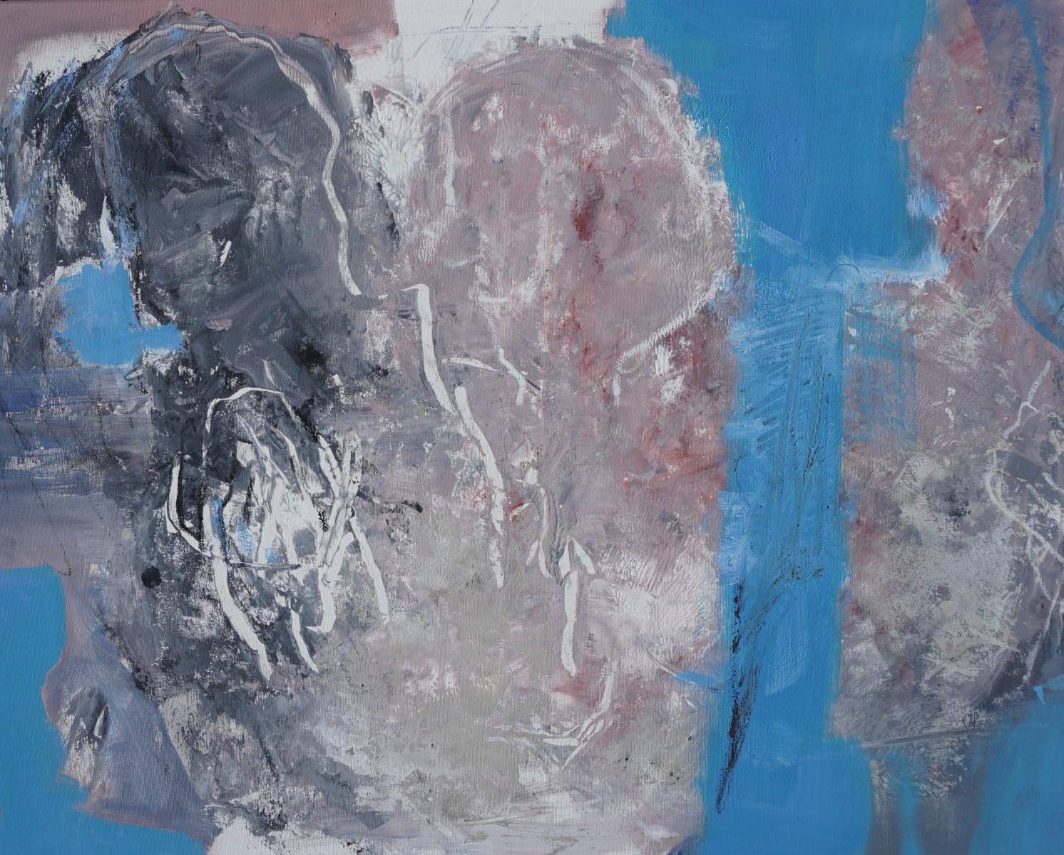 Mitgefühl, Acryl, 80x100cm, 2020